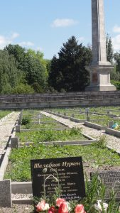 Memorial-mogila Kazakhskogo solgata