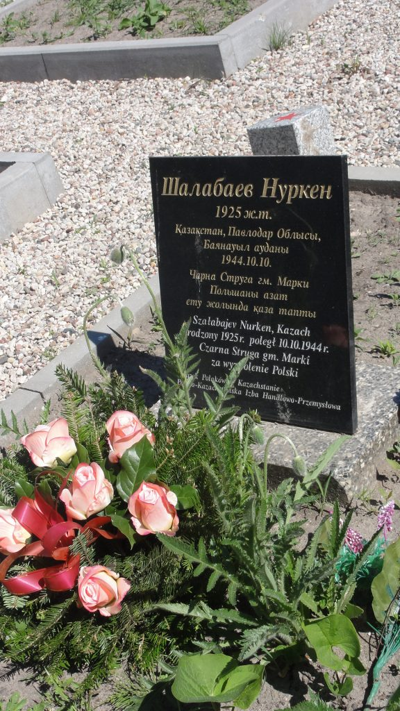 Nurken Shalabayev-mogila Kazakhskogo soladata